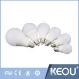Fabricante ISO9001 3W 5W 9W 12W 7W E27 Lâmpada LED AC100-240V