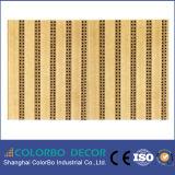 Пожаробезопасная деревянная Grooved панель панели стены звукоизоляционной плиты акустическая