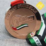Commerce de gros Custom 3D'émail de Soccer du cycle de Boxe Médaille vierge