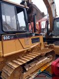 Niveladora hidráulica usada de la correa eslabonada del gato D3c del alimentador en las buenas condiciones de trabajo para la venta