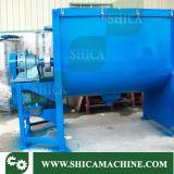 mezclador plástico de tambor del color del acero inoxidable 200kg