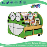 L'école modèle de chariot de bande dessinée livres Toddler étagère (HG-6010)