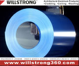 PE revêtement en aluminium de couleur pour la construction de la décoration de la bobine
