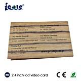 Un biglietto da visita da 2.4 pollici con lo schermo del video dell'affissione a cristalli liquidi di TFT