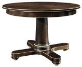 (CL-3320)家具の円形の木のダイニングテーブルを食事する旧式なレストラン