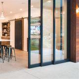 La puerta de aluminio/aluminio puertas de baño/ Puerta corrediza de aluminio