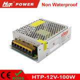 alimentazione elettrica di commutazione del trasformatore AC/DC di 12V 8A 100W LED Htp
