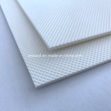 Изготовление конвейерной ткани PU белизны высокого качества теплостойкnNs