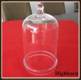 Kundenspezifische Borosilicat-Glas-Glasglocke mit Griff-Hersteller