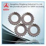 Rolo da roda dentada para o formulário hidráulico China da máquina escavadora