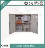 Caixa de distribuição eletrônica revestida laminada relativa à promoção do pó do aço de folha