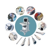 Doppler-medizinisches Ultraschall-System mit LCD-Monitor färben