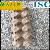 Bandejas recicladas del huevo del papel de pulpa