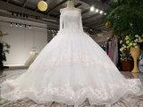 Aolanes nova chegada moderno Tulle vestido de casamento