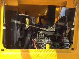 Eougemジョイスティック制御を用いる1.2トンの山東の車輪のローダーの新しいモデル