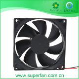 La vente de ventilateur en plastique à chaud, de ventilation du ventilateur, ventilateur de refroidissement du DC 92*92*25mm