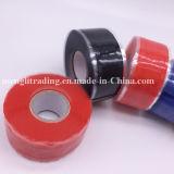 Selbst-Fixierensilikon-isolierende Reparatur-Verpackung nehmen 50mm die gelbe Farbe auf Band auf