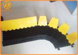 5 chepas de goma flexibles del protector del cable del canal