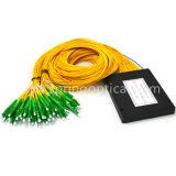 1*64 Sc APC PLC Splitter Splitter de fibra óptica en el interior plc.