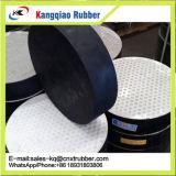 Rilievo elastomerico del cuscinetto laminato neoprene di gomma