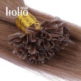 Cabelo humano natural 12 Polegadas cutícula colado cabelos previamente alinhados