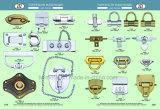 Замок Flip никеля перлы сумки свободно образцов вспомогательный