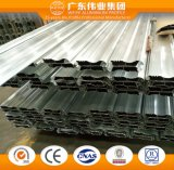 Perfil de aleación de aluminio recubierto de polvo de puerta de persiana de enrollar