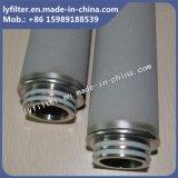 patroon van de Filter van het Metaal van het Titanium van Duim 30 '' de Poreuze met de Interface van de Draad