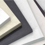 Pedra de cristal artificial projetada material marmoreando customizável de quartzo da bancada