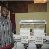 Компьютеризированная машина вышивки крышки компьютера головок Wonyo 2 высокоскоростная