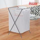acima da cesta ereta do armazenamento da roupa do Hamper da lavanderia com pés