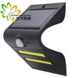 preço de fábrica! ! ! Novo Estilo de luz solar com Sensor de Movimento+ Luz + Controle de luz para piscina jardim/pátio/parede Farolete/rua/