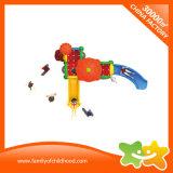 Напольная пластмасса игрушки малышей места детей сползает для парка