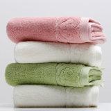 100%のタケのファイバーの表面/手/浴室タオル