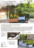 Olla de cerámica enrejado apilable con jardín de flores planteó la sembradora de cama