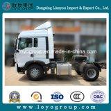 Sinotruk HOWO T5g 350HP 4X2のトラクターのトラック