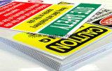 3мм толщина пакета Non-Toxic материал PP гофрированный лист