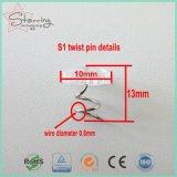 13mm freie Plastikhauptstahlpolsterung-Torsion-Stifte