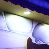 18W ultradelgadas de 8 pulgadas de pantalla LED redonda de la luz, 1300LM, equivalente a 120 W, 5000K guay empotrables LED blanco, las luces del techo para el hogar, oficina, iluminación comercial