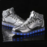 Fashion facturable Saktes LED Sneakers chaussures occasionnel pour les enfants