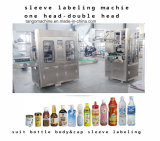 AUTOMATIC Empty Bottle Pet Bottle CAN Shrink Sleeve label Labeling Machine for Round Bottle Square Bottle