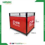 Supermercado o tienda Cable de acero de la promoción de la jaula de alambre