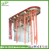 Hxqbg elektrische Hebevorrichtung-Ring-Spur-Granaliengebläse-Maschine