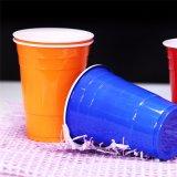 PP de qualité alimentaire de gros partie solo Tasses en plastique rouge