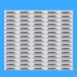 etiqueta impermeável da etiqueta macia EAS de 58kHz Am para a etiqueta impermeável contra-roubo da etiqueta EAS Am do sistema EAS de 58kHz Am EAS para roubo da alameda de compra do supermercado o anti