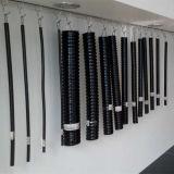 Conductos Doublelocked cubiertos PVC inoxidables de la flexión del acero