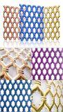 201 304 gaufrage plaque en acier inoxydable couleur décorative feuille creux 500