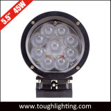 높은 Power 5.5 Inch 45W Round Black 또는 Silver LED Working Lights