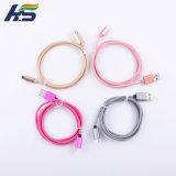 Colorfull Nylonmikro USB-Kabel-schnellere Aufladeeinheit und Daten-Synchronisierungs-Kabel für Andriod Mobile