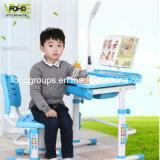 As crianças a lição de plástico Mesa Eco-Friendly reguláveis em altura crianças estudo conjunto de mesa e cadeira